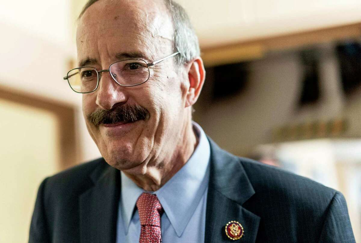 House Foreign Relations Chairman Eliot Engel, D-N.Y., walks into the weekly Democratic caucus meeting on Capitol Hill on Sept. 25, 2019.