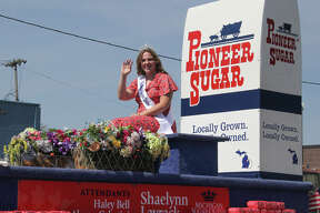 In place of the Grand Parade, the Michigan Sugar Company hosted its own mini-parade though Sebewaing on Saturday morning. The parade featured Sebewaing firefighters, police, EMS and the newly crowned 2020 Michigan Sugar Queen and attendants.