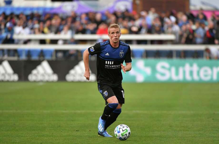 Jackson Yueill, 23, was looking forward to his second full MLS season, but it came to an abrupt halt after two matches because of the coronavirus pandemic. Photo: Lyndsay Radnedge / ISI Photos/Getty Images / 2020 Lyndsay Radnedge/ISI Photos