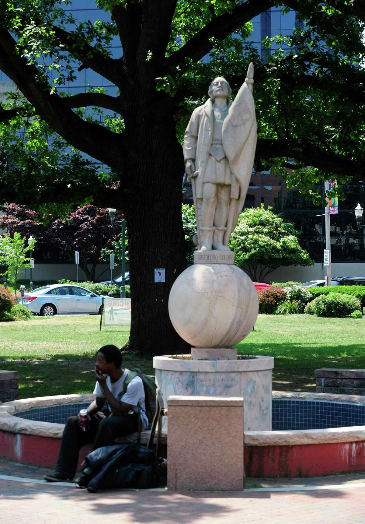 The City of Stamford has received numerous requests calling for the removal of the Christopher Columbus statue at Columbus Park in Stamford.