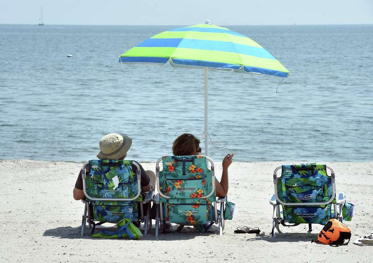 A scene at Silver Sands Beach in Milford in 2019. Tourism is expected to be down in the state this year due to the coronavirus pandemic, though the state is investing it attracting visitors.