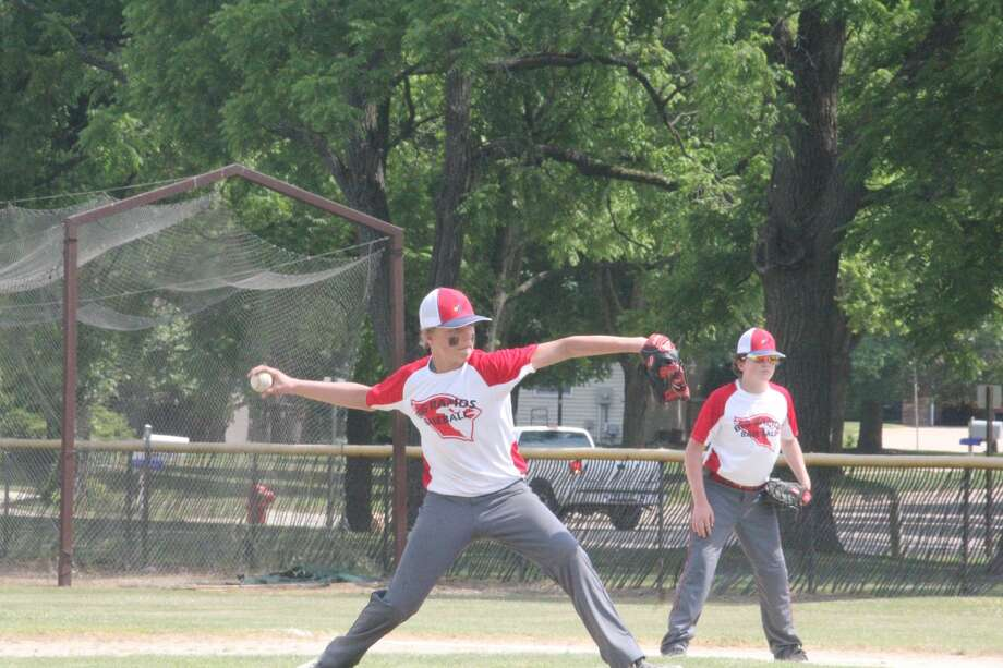 Big Rapids Travel Baseball hosted a 20-team all-day tournament on Saturday in various age divisions from 8 to 14. Photo: John Raffel