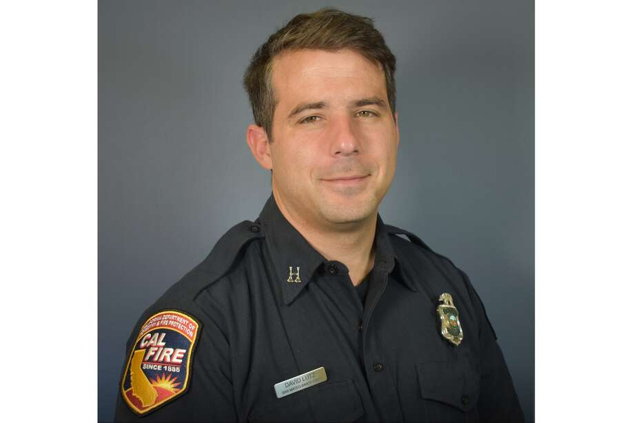 David William Lutz, a 33-year-old captain with the Cal Fire San Mateo-Santa Cruz Unit died June 17, 2020 in an off-duty hiking accident at Pfeiffer Burns State Park. Photo: Cal Fire/Courtesy