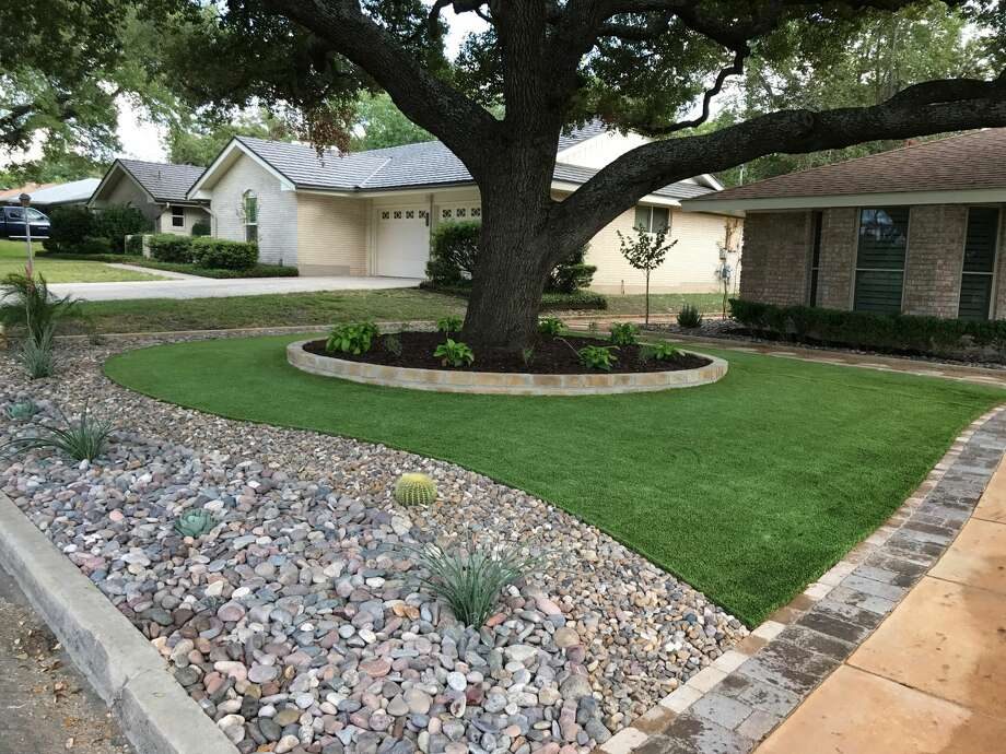 For those who want to avoid frequent mowing and watering – the trendiest option in town is artificial turf. Photo: Always Green Artificial Lawns