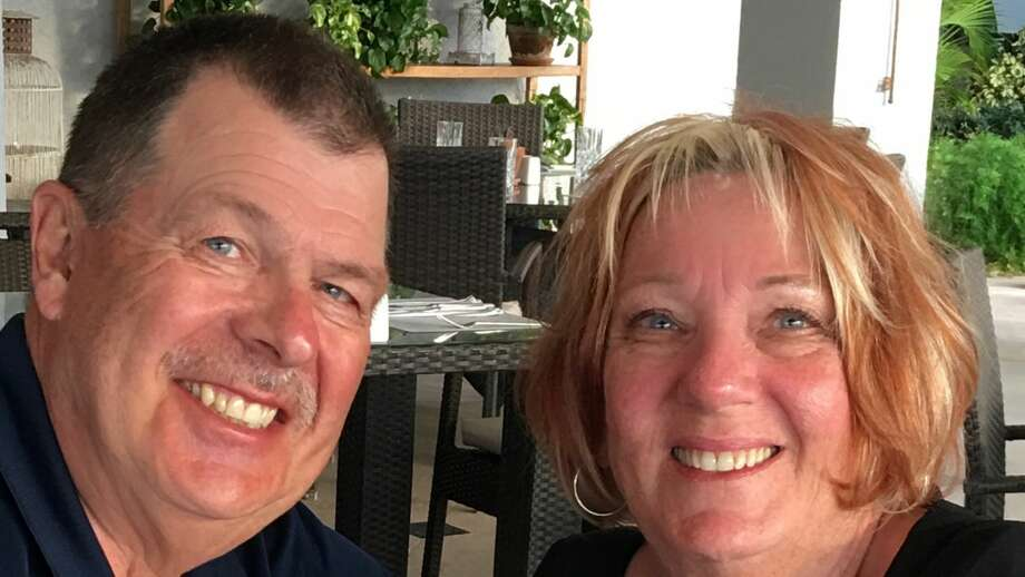 Larry Kastl poses with his wife Rhonda in a recent photo. Photo: Photo Provided