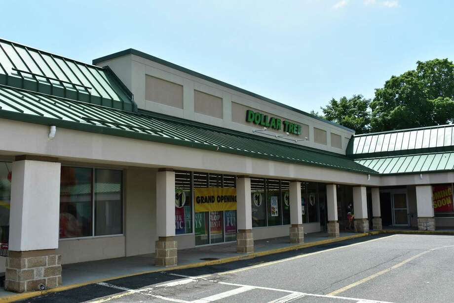 The new Dollar Tree store at the Gateway Center plaza on Danbury Road in Wilton, Conn., after opening in June 2020. Photo: Alexander Soule/Hearst Connecticut Media / Hearst Connecticut Media