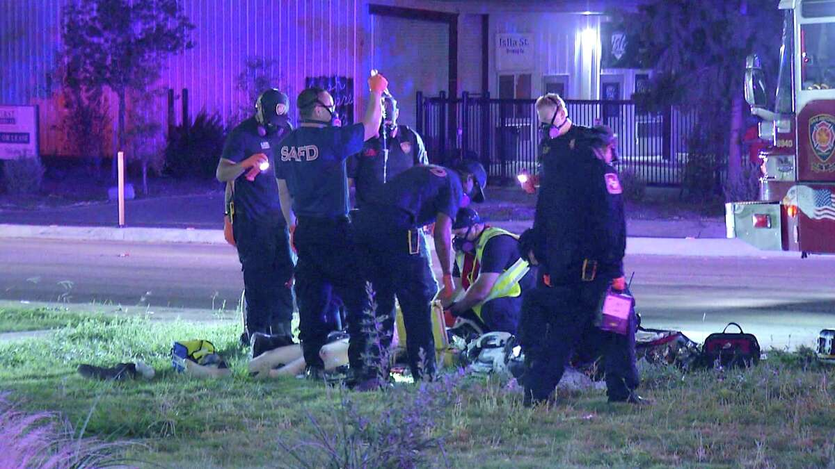A man was killed Monday June 22, 2020 when his bike hit a dip in the 12100 block of O'Connor Road and he lost control police said.