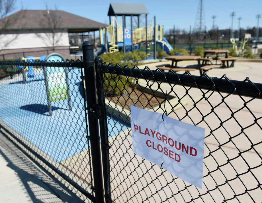 Limited physical activity, due in part to closed playgrounds, has led to Connecticut children gaining an average of 5.5 pounds during the coronavirus quarantine, according to a new study. Photo: Tyler Sizemore / Hearst Connecticut Media / Greenwich Time