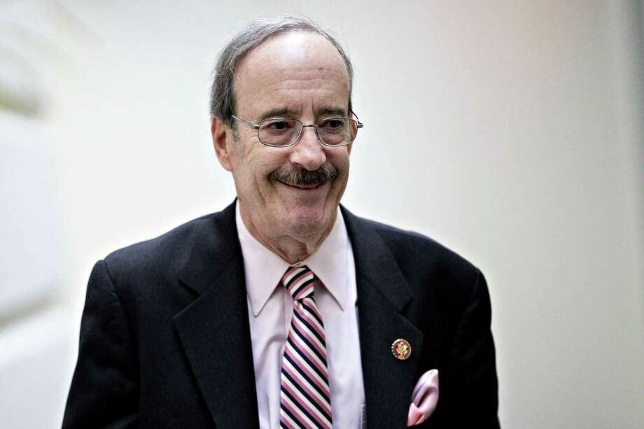 Rep. Eliot Engel, D-N..Y. and chairman of the House Foreign Affairs Committee, exits a weekly Democratic caucus meeting at the U.S. Capitol in Washington on Jan. 14, 2020. Photo: Bloomberg Photo By Andrew Harrer. / © 2020 Bloomberg Finance LP