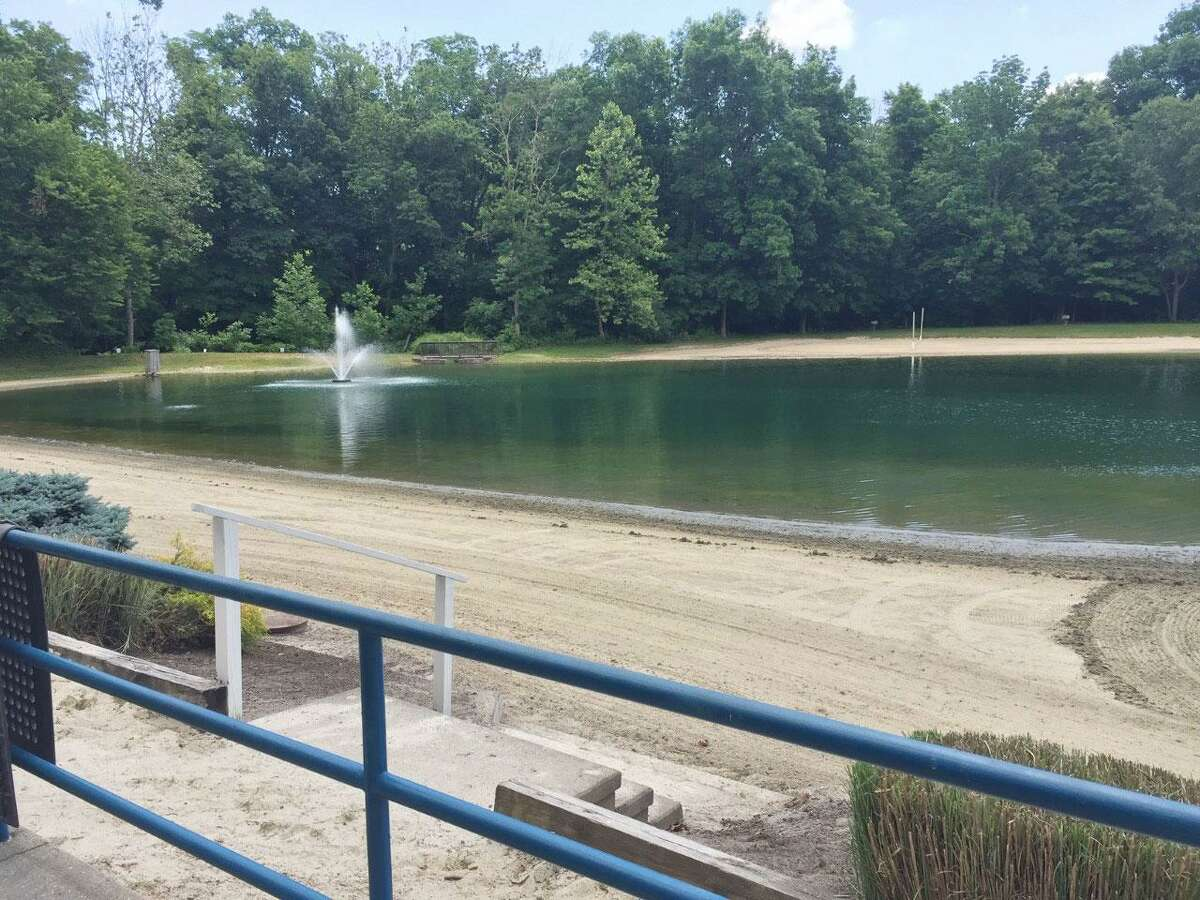 The swimming pond at Merwin Meadows has been closed temporarily due to further testing of the water after a resident made a post in a private Facebook group for community residents on Sunday night, according to First Selectwoman Lynne Vanderslice.