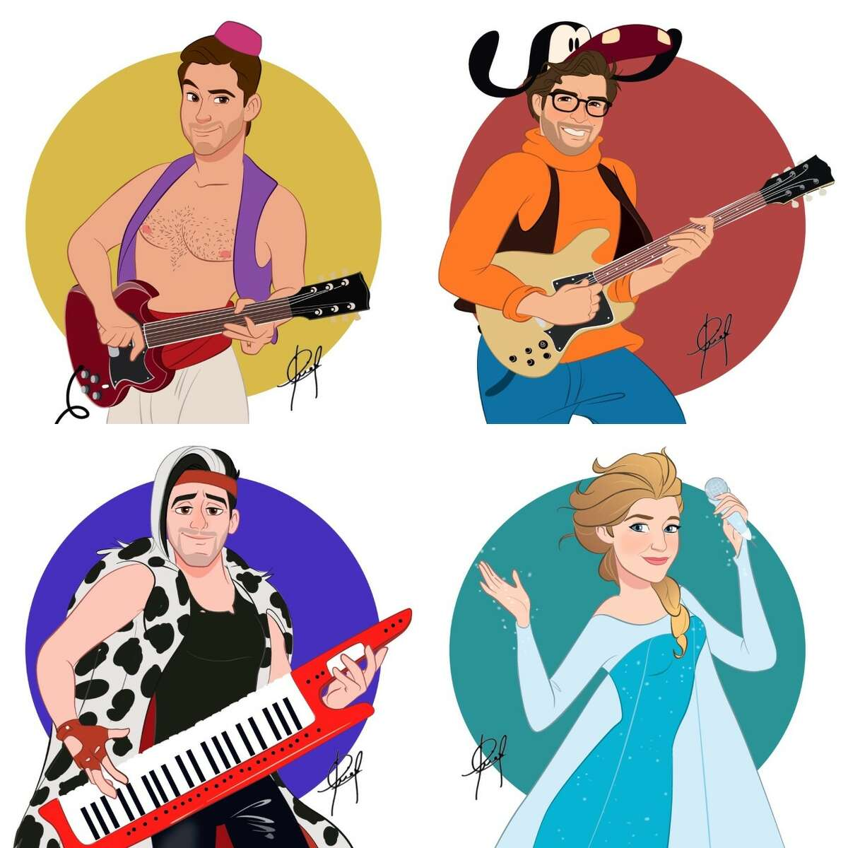 7:30 p.m. Wednesday, July 22 The Little Mermen are a New York City-based Disney cover band that play the hits from