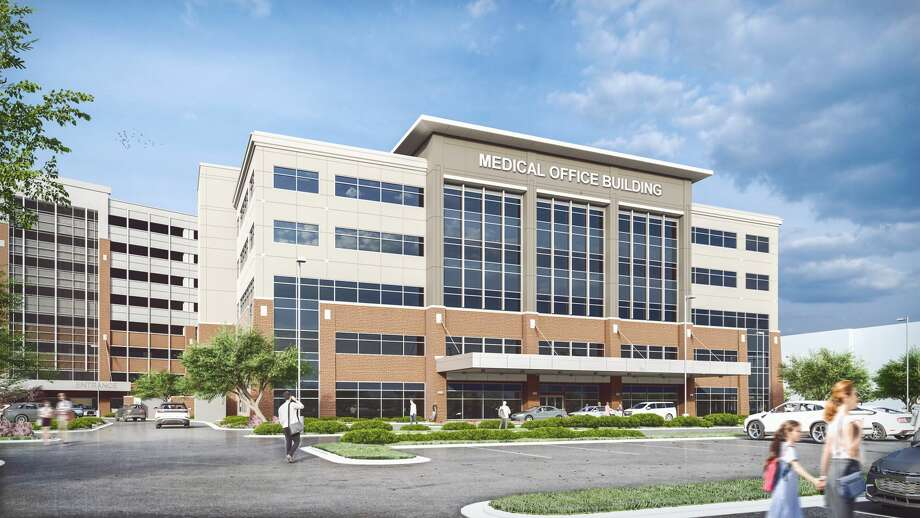 Healthpeak Properties is developing a 116,500-square-foot medical office building at 7500 Fannin St. on the campus of The Woman's Hospital of Texas. Completion is planned in December 2021. Transwestern Real Estate Services handles leasing services. Photo: Transwestern Real Estate Services