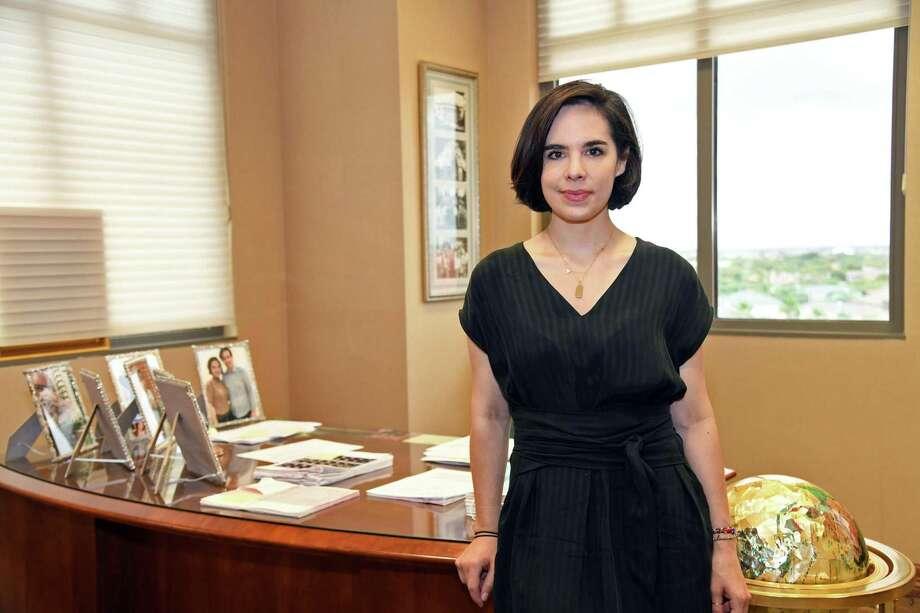 "Alyssa Cigarroa, along with Regina Portillo, created the ""Laredo Contra COVID-19"" Facebook page. Photo: Christian Alejandro Ocampo / / Laredo Morning Times"