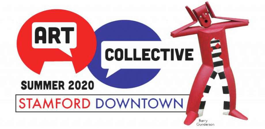 "Stamford will feature 35 sculptures this summer, as part of an outdoor exhibit, ""Art Collective in Stamford Downtown."" Photo: Stamford-downtown.com"