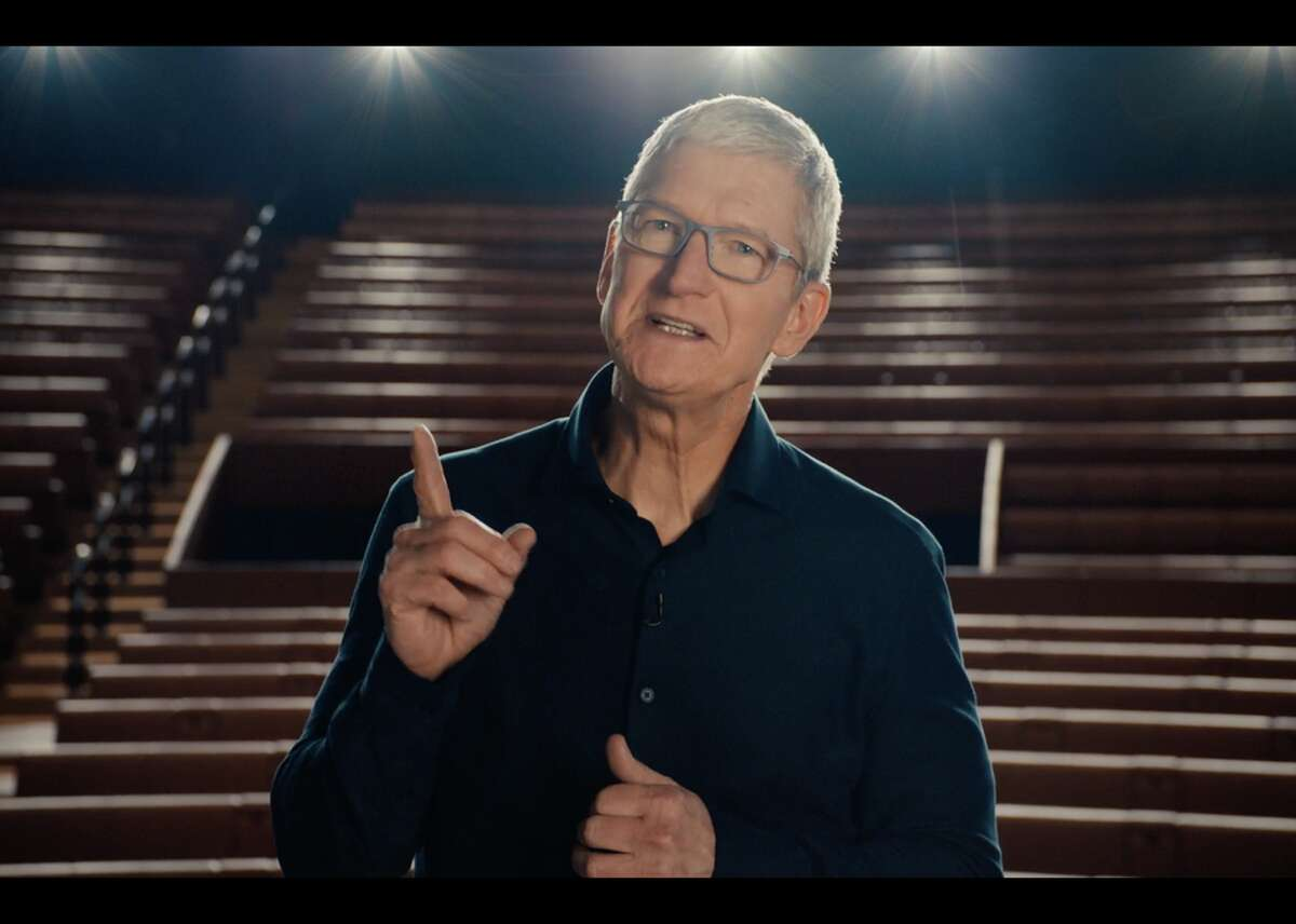 Apple WWDC 2020 event CEO Tim Cook heads Apple's online keynote.