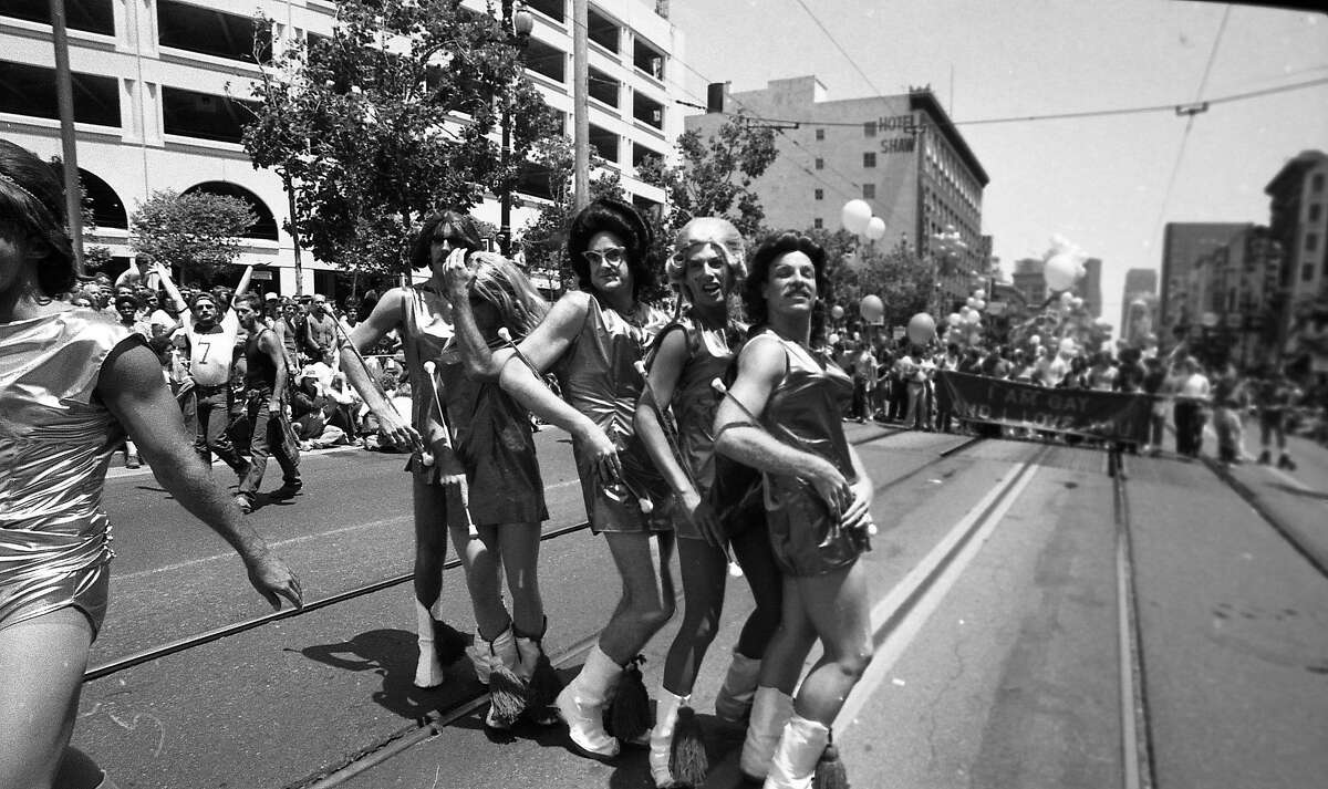 Gay Freedom Day Parade June 28, 1981