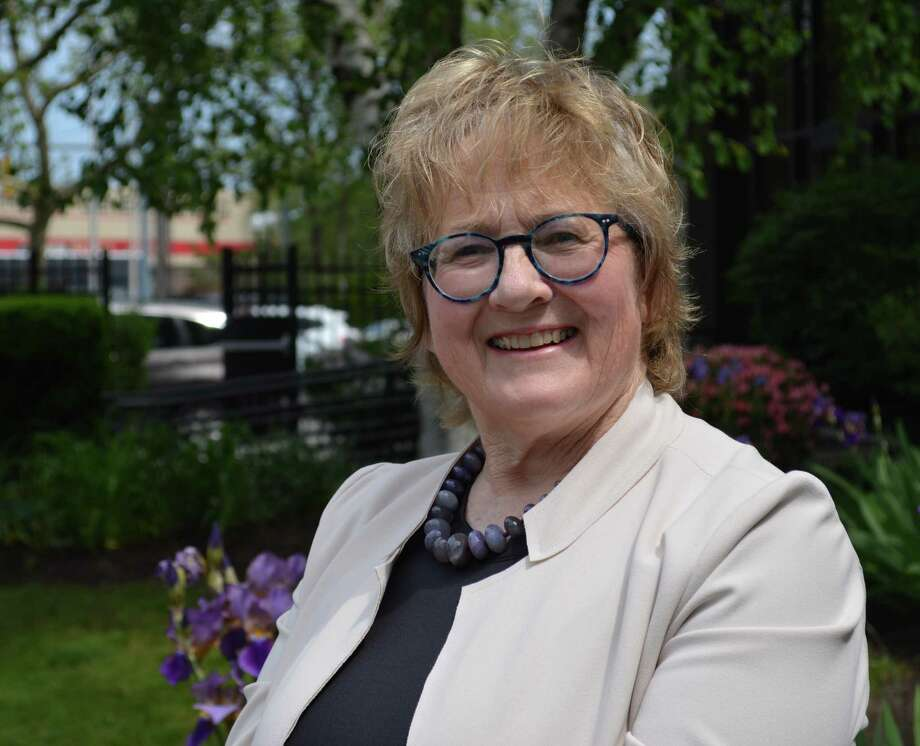 Anne McGee, a domestic violence adult victims' advocate, has been named The Center or Family Justice 2020 Carol Roberto Employee of the Year. Photo: Char Nolan / The Center For Family Justice / Connecticut Post