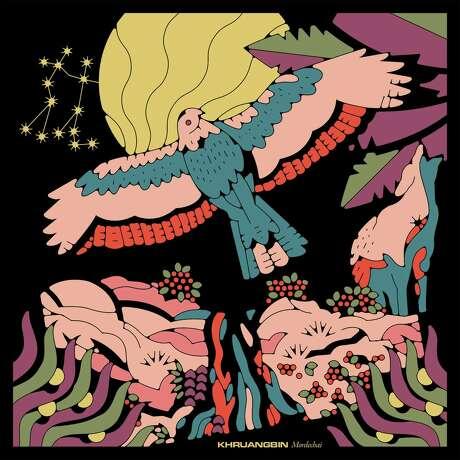 "The cover of Khruangbin's 2020 album, ""Mordechai"" album"