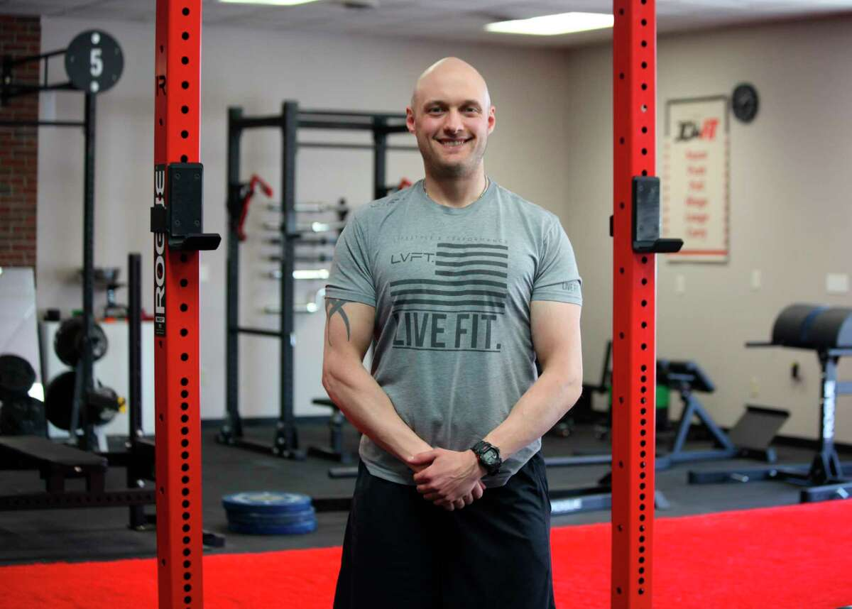 JDFit founder John Durante said he is excited to reopen the gym to the public on Thursday. (Pioneer photo/Taylor Fussman)