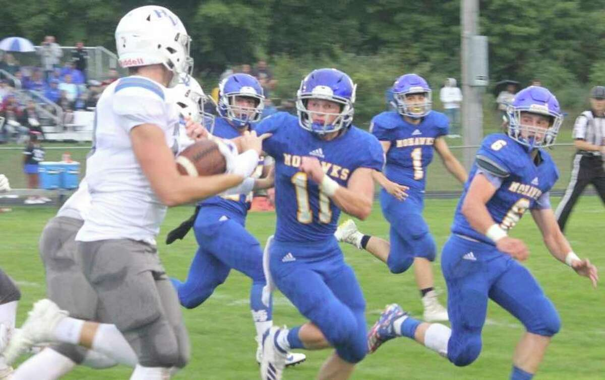 Morley Stanwood's football team has begun its first phase of preseason workouts. (Pioneer file photo)