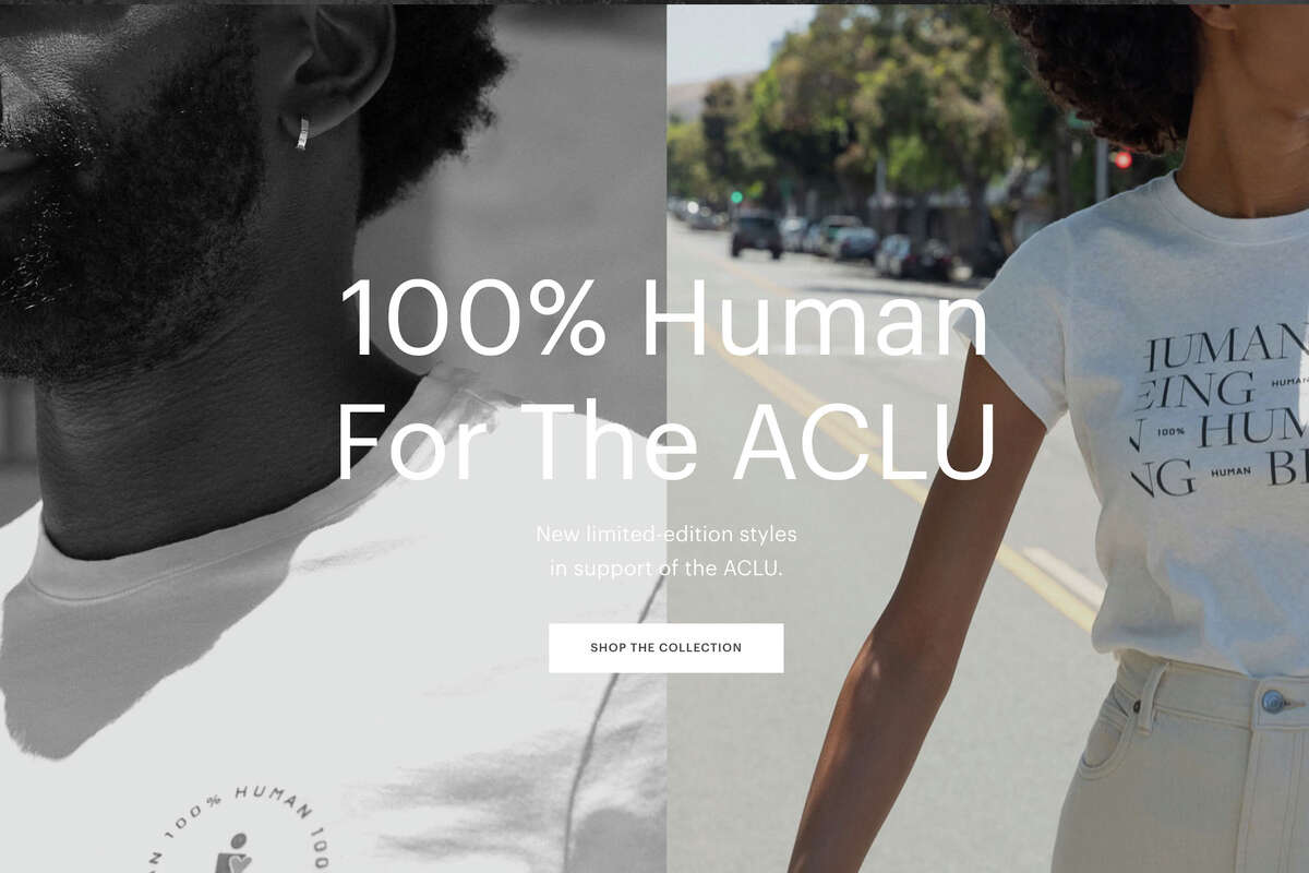 Everlane In addition to donating $75,000 each to the Equal Justice Initiative and the ACLU, the San Francisco clothing company Everlane published a shared document with specific instructions for anyone wishing to become involved in the Black Lives Matter movement. Beyond recommending protests to attend and films to watch, it has specific lists of local Black-owned businesses in America, helpfully organized by city. Here's a direct link to the list for San Francisco. Shop Everlane here.