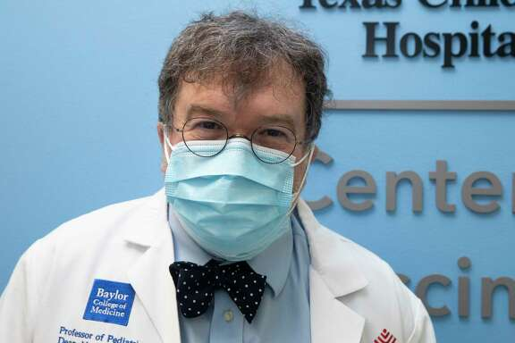 Peter Hotez, co-director of Texas Children's Hospitals Center for Vaccine Development, poses for a photograph outside the lab Thursday, June 18, 2020, in Houston.