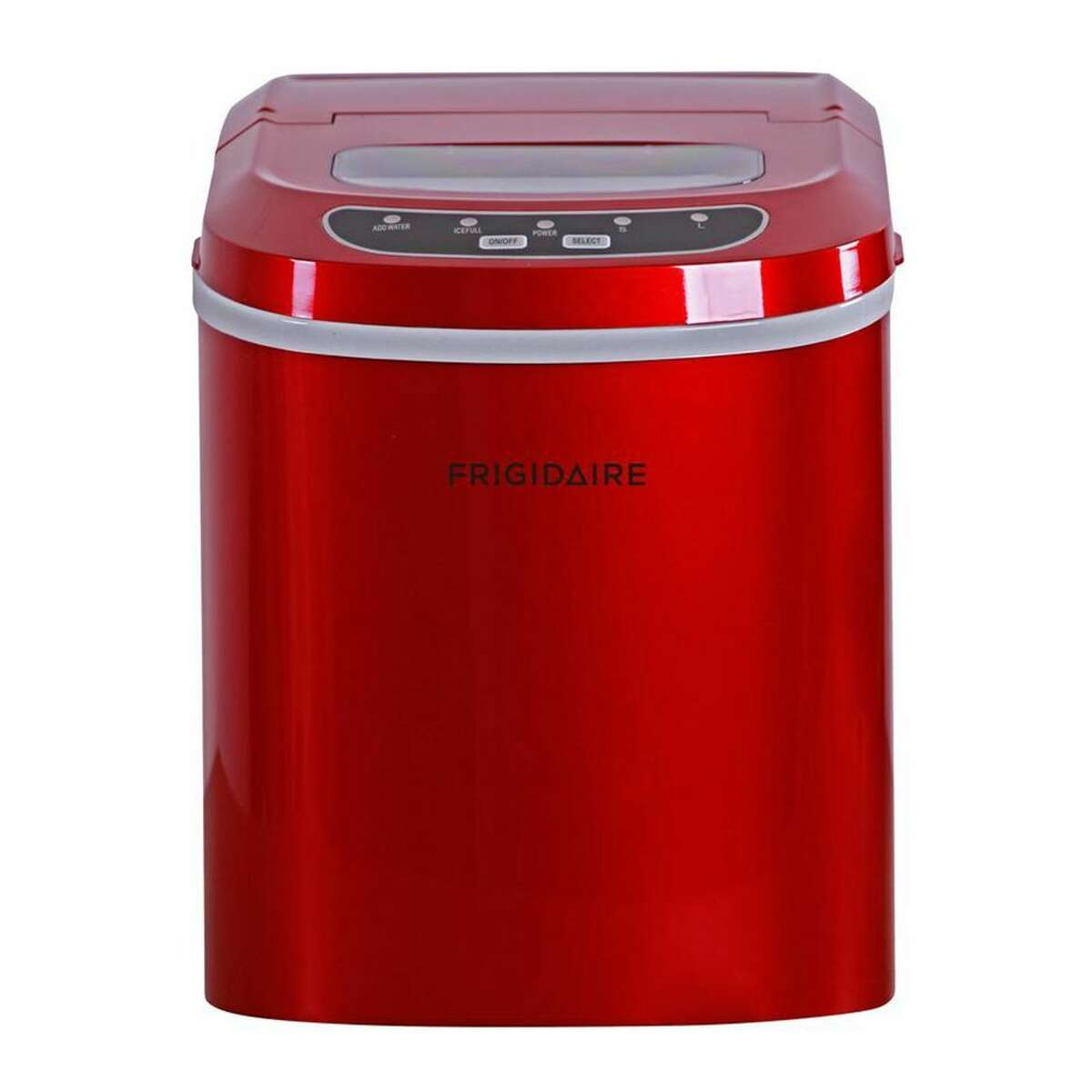 2) Frigidaire EFIC108 Portable Ice Maker: $109.99 Shop Now We get it, when you want ice... you want it RIGHT NOW. The Frigidaire EFIC108 is a beast at cranking out the cubes. During Wirecutter's tests with the ice maker, the unit made enough ice for two drinks in seven minutes, and enough for 15 drinks within an hour. Besides its speed, we like how compact and lightweight this portable ice maker is. Weighing in at less than 20 pounds, it's easy to carry or it'll fit on any countertop. Plus, it has a large see-through window so you can see how much ice is left without opening the lid. This model produces up to 26 pounds of ice in a day and it has a mesh filter to keep debris out of your ice. If you don't like this models bright red aesthetic, consider the similar COSTWAY ice maker, instead which comes in four additional color options.