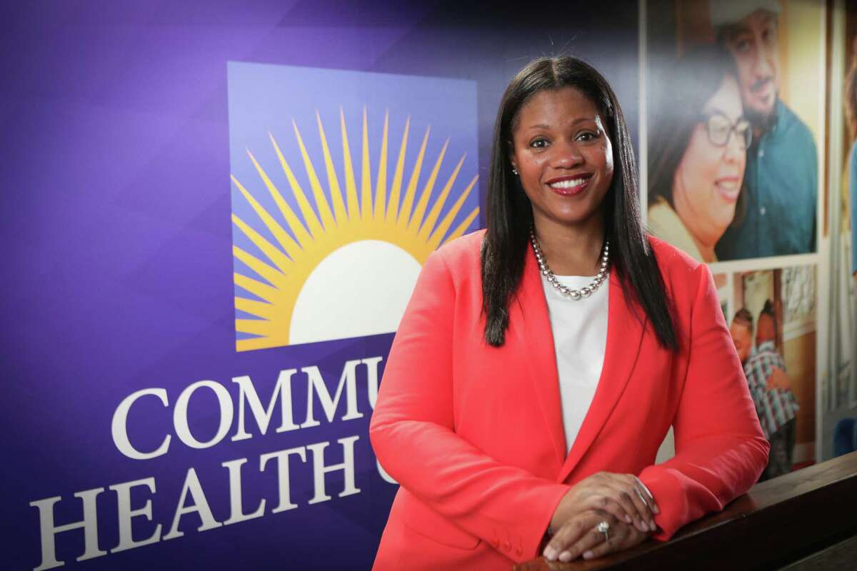 Lisa Wright, new president and CEO of Community Health Choice Wednesday, June 17, 2020, in Houston.