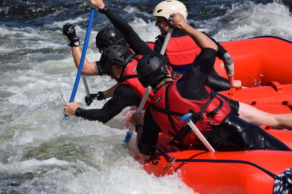 When American Whitewater Expeditions, which leads guided white water rafting trips on the American River, opened back up in late May, the business was slammed immediately.