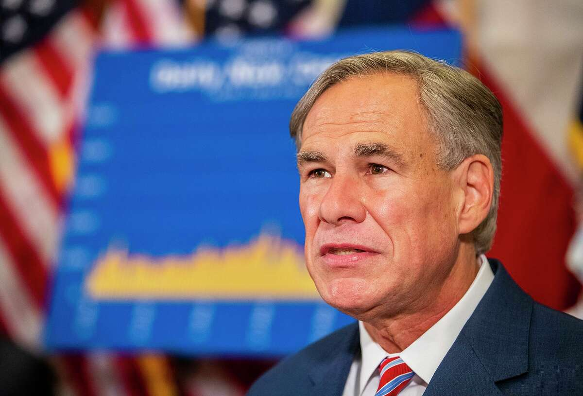 """Gov. Greg Abbott on Monday, June 22, 2020 said he has no plans to shut down the state again. """"We must find ways to return to our daily routines as well as finding ways to coexist with COVID-19,"""" Abbott said in a news conference at the State Capitol. """"Closing down Texas again will always be the last option."""" (Ricardo B. Brazziell/Austin American-Statesman via AP)"""
