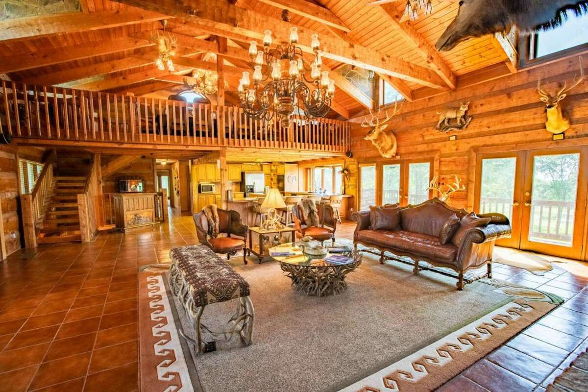 Priced at $3.8 million, the ranch includes a 5,500-square foot main house and 2,400-square foot guest house, according to its listing on CapitolRanch.com.