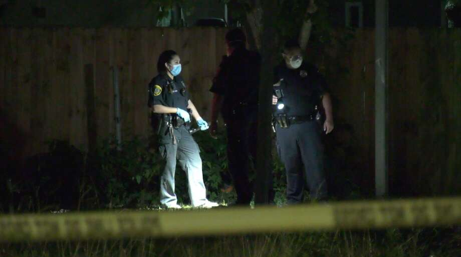 Houston police investigate a deadly shooting in the 6000 block of Eastland Street on Monday, June 22, 2020. Photo: OnScene.TV