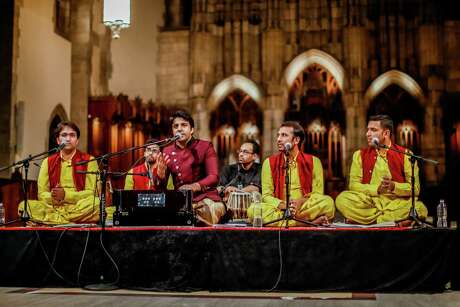 Riyaaz Qawwali in performance at the University of Chicago