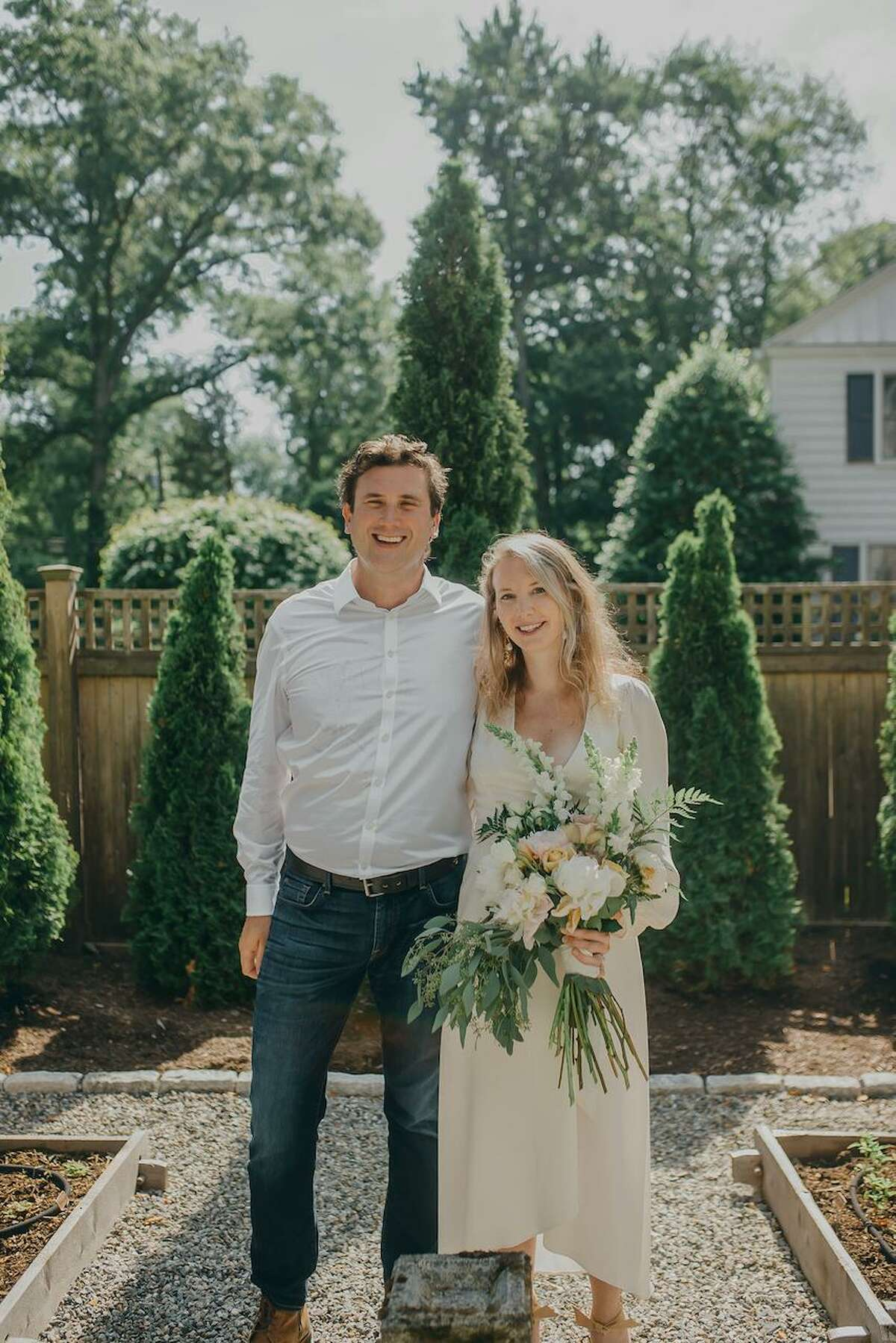 Darien High graduate Amanda Fitzgerald Fuller was married to Richard Henry Samson on the first day of summer.