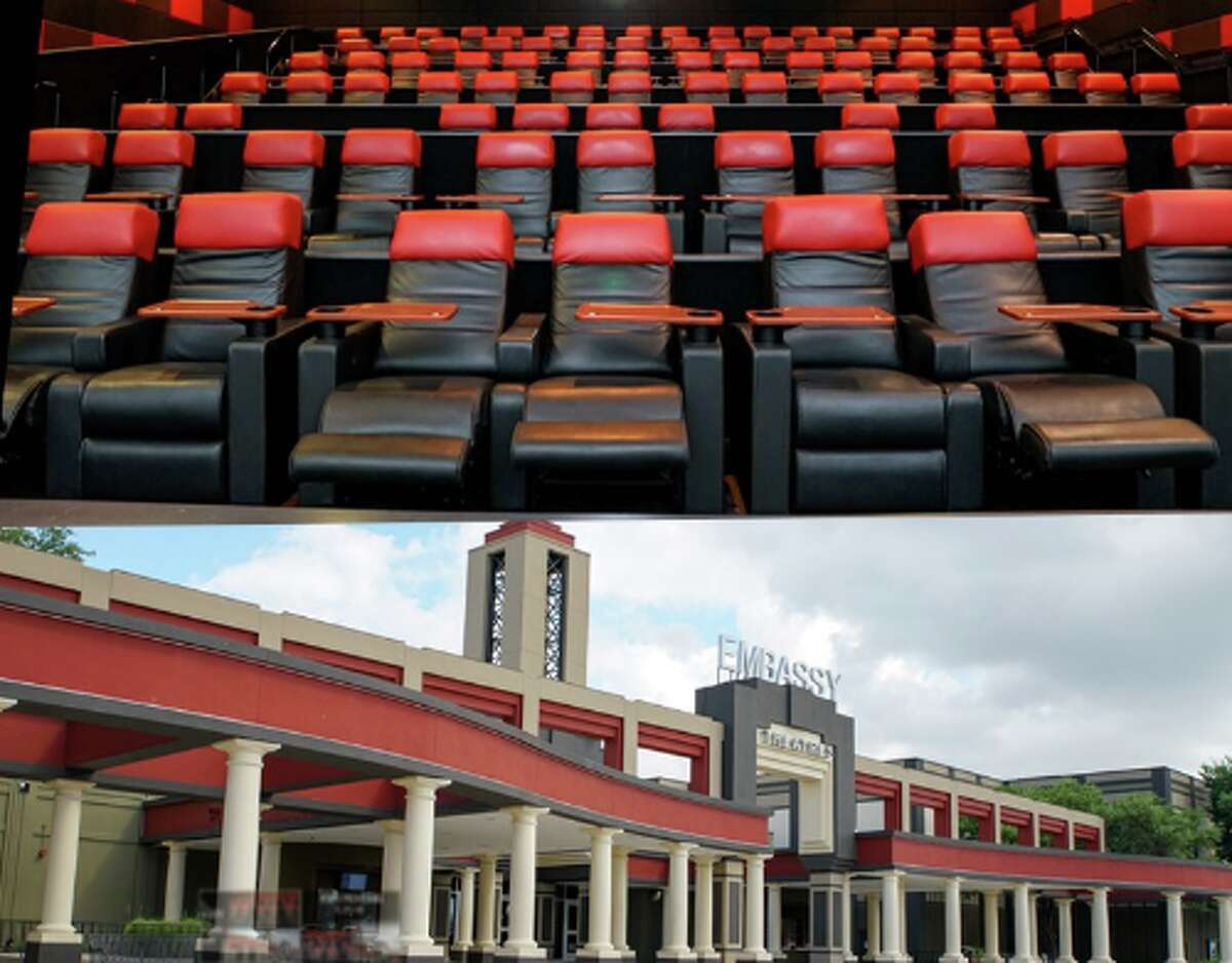 The San Antonio-based cinema chain said its Santikos Embassy theater, located on 13707 Embassy Row, will return to business with $5 tickets.