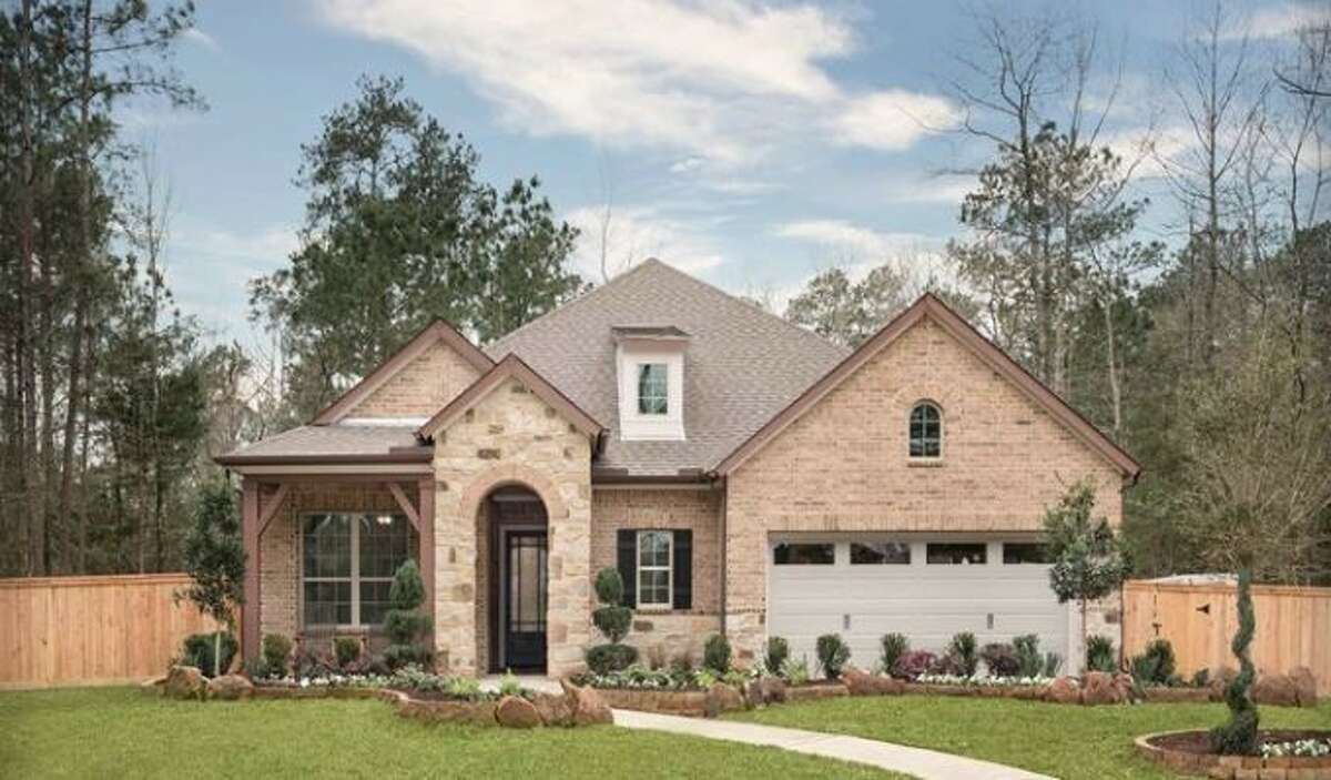 David Weekley Homes' Jensen model home at 205 Scenic Grove Court in Willis is now open for tours in The Woodlands Hills.