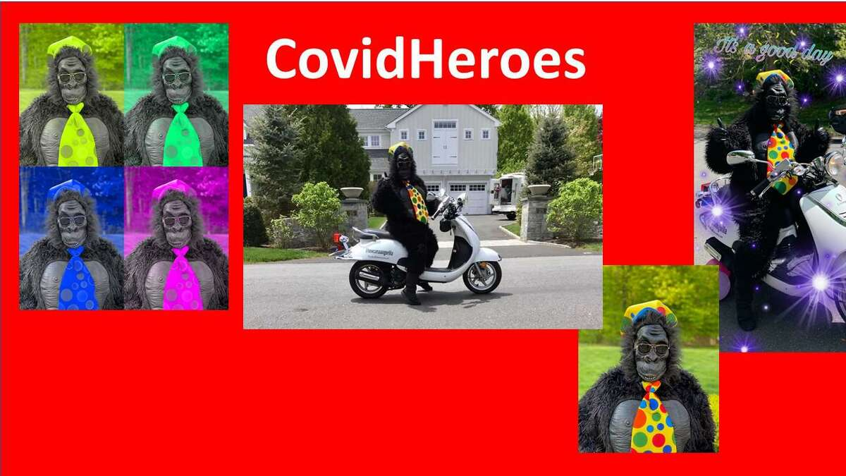 Covidhope.com, Facebook (https://www.facebook.com/groups/covidhope/?ref=share) and Instagram are live and filled with stories like New Canaan Gorilla who rode around during the pandemic spreading cheer on a motorbike and how 12 Staying Put Angel Volunteers delivered packages to 200 seniors in April. The website also features a music video created and performed by 40 students from the Performing Arts Conservatory of New Canaan as a tribute to the first responders and essential workers.