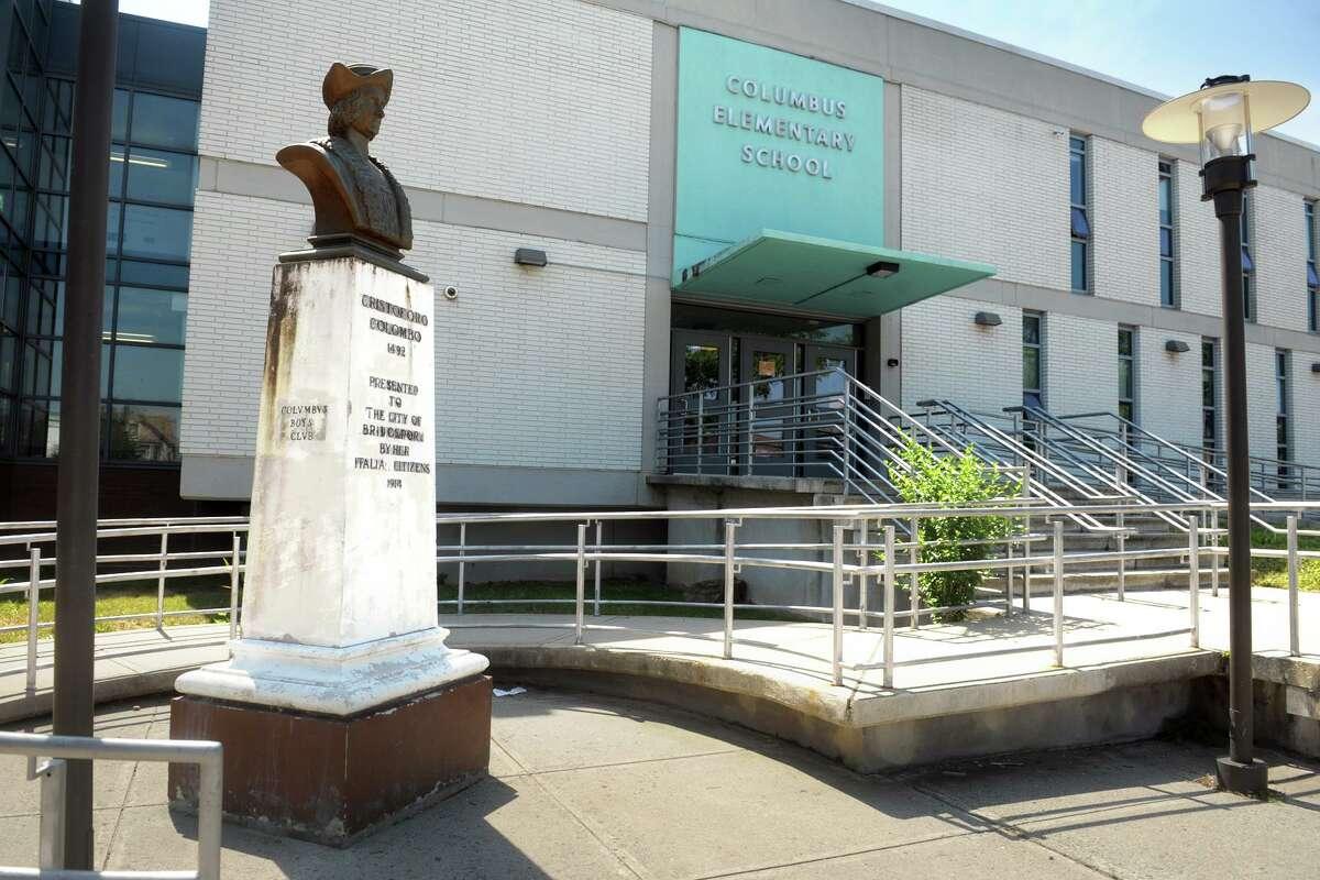 Columbus Elementary School, in Bridgeport, Conn. June 23, 2020.