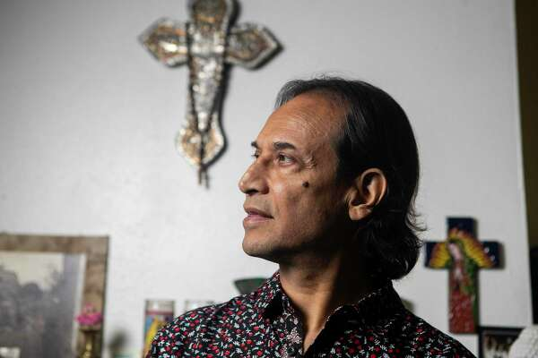 Actor Jesse Borrego at his 亚洲游国际集团home in San Antonio. His new indie film 'Phoenix, Oregon' hits DVD and Blu-ray June 23.