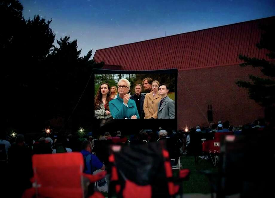 """Friday, June 26: Grab a picnic blanket or chair and enjoy a movie under the stars. Dow Gardens in Midland will show """"Knives Out"""" (PG-13) on its huge inflatable screen with sound system at 9:30 p.m. (sunset). (Photo provided/Dow Gardens Facebook)"""