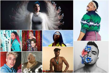 LGBTQ+ artists from all over Houston.