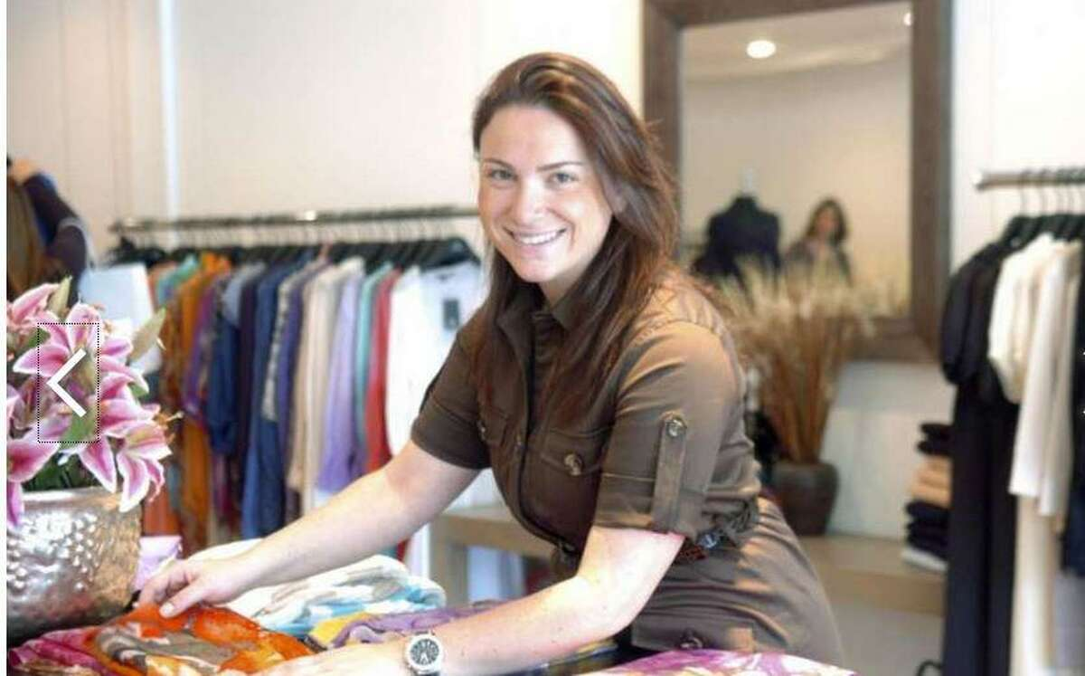 """Stephanie Menkin in Courage. B, the former Greenwich Avenue shop she owned with her brother, was featured on an episode of """"The Profit."""""""