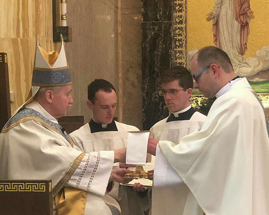 Luczak Pawel is ordained into the priesthood for the Diocese of Springfield. Photo: Photo Provided