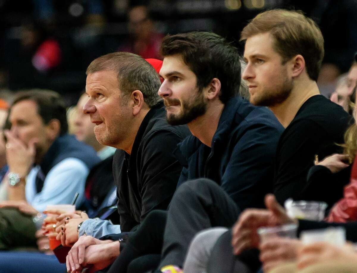 Rockets owner Tilman Fertitta, watching a game last season, doesn't think the roster needs to be blown up as the team goings through a coaching and GM change.