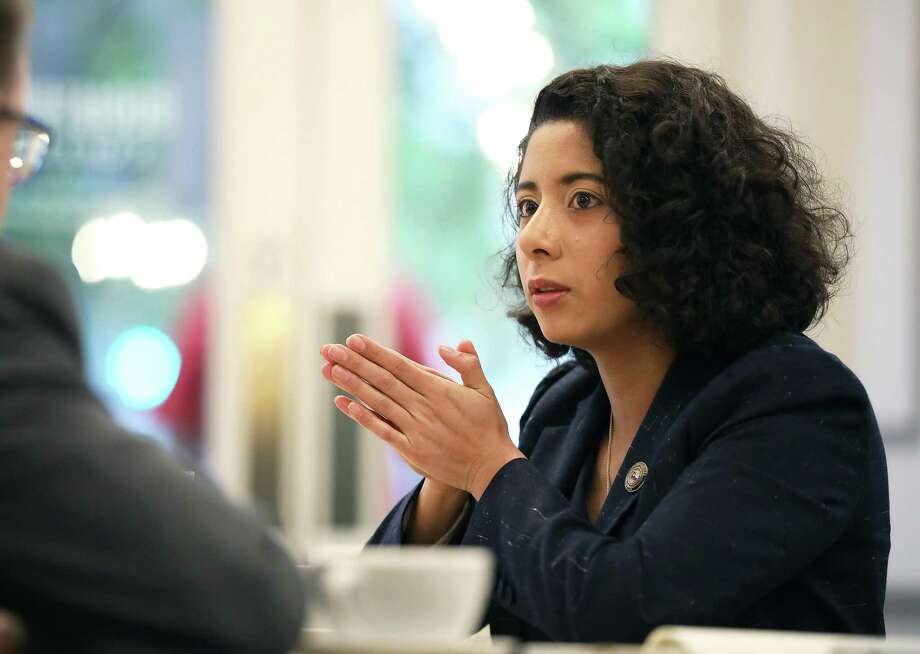 """The impact of this crisis on small businesses has been devastating,"" Harris County Judge Lina Hidalgo said. ""We can't afford to lose a source of jobs, innovation and the enterprising spirit our region is known for."" Photo: Sharon Steinmann / Bloomberg / © 2020 Bloomberg Finance LP"