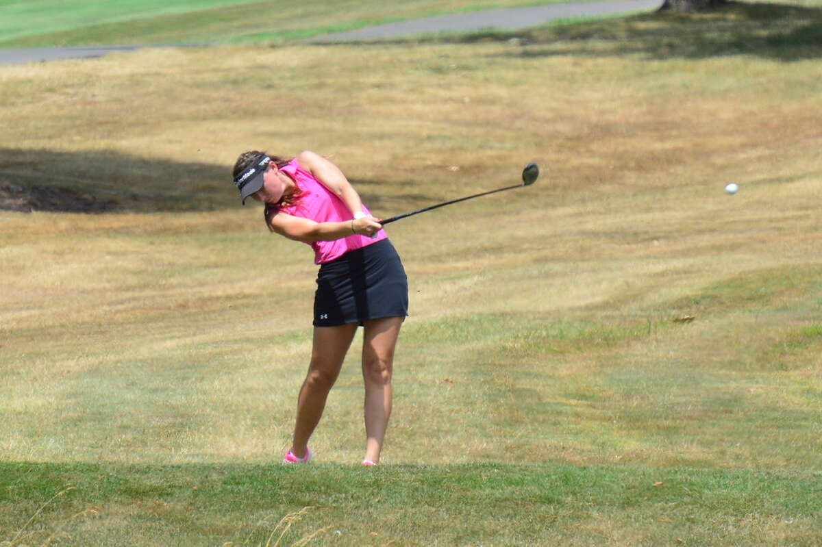 Jenny Buchanan of Loudonville finished fourth in the 2016 NYSGA Women's Amateur at the Elmira Country Club. The 2020 NYSGA Women's Amateur is in jeopardy because of a state Department of Health ruling banning inter-regional travel for competitive tournaments. (NYSGA photo)