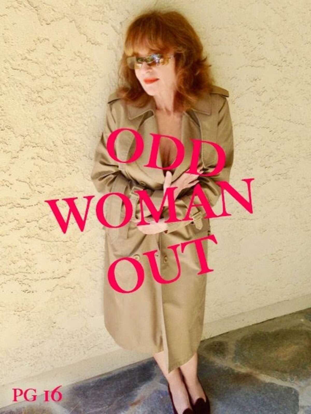 """Cover photo of Melanie Chartoff's upcoming book, """"ODD WOMAN OUT,"""" to be released in 2021."""