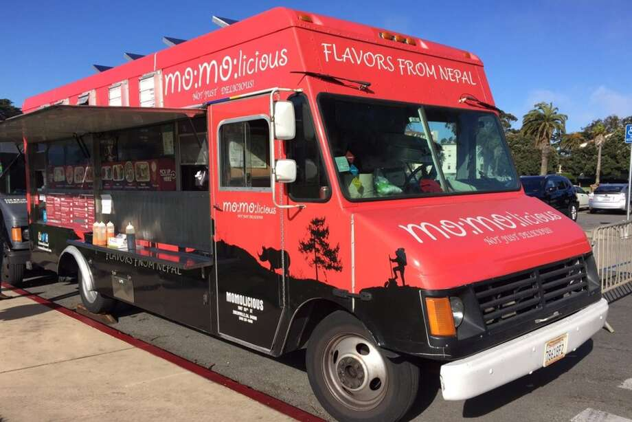 A MOMOlicious food truck reported stolen last week has been recovered under an I-880 overpass in West Oakland. Photo: Andrew D. On Yelp