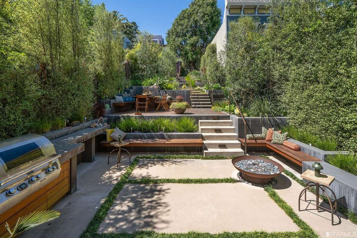 Private outdoor space is a new must for San Francisco buyers. This Castro home with a three-level garden is a prime example.