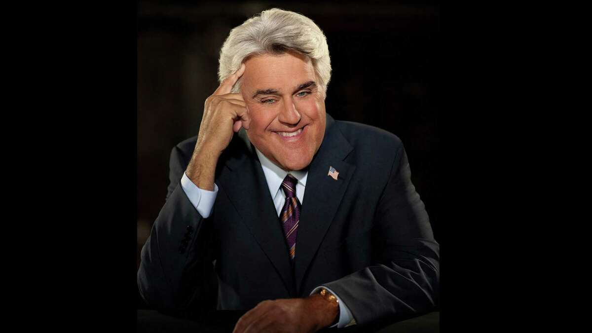 Jay Leno is scheduled to perform his comedy show at the Ridgefield Playhouse Oct. 15.